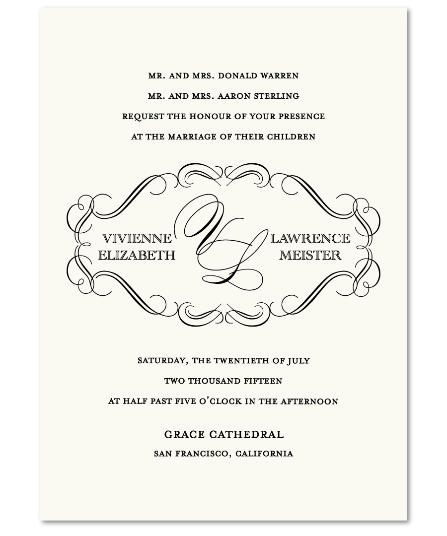 Wedding Litoon: Wedding Invitations