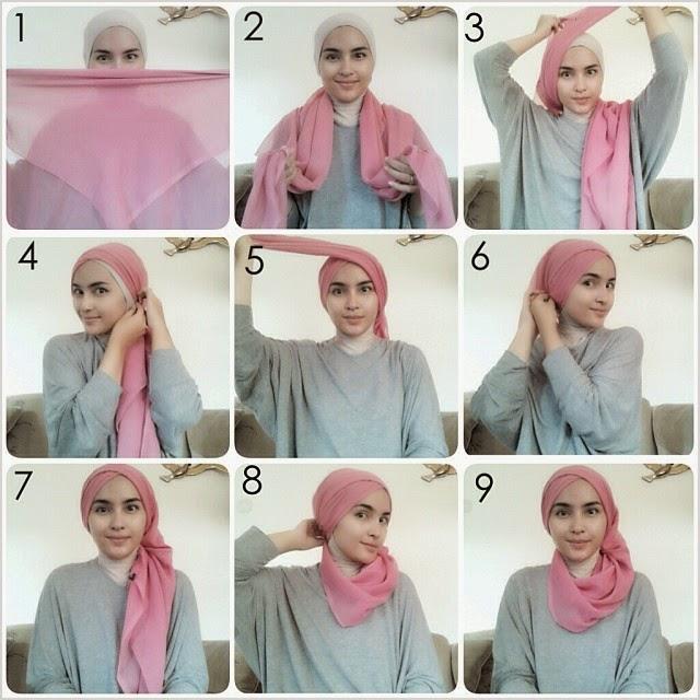 Tips Hijab Turban Modern Terkini