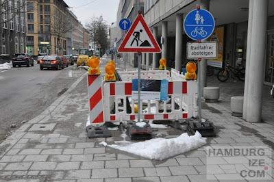 München, Karlstraße / Ottostraße - Baustelle