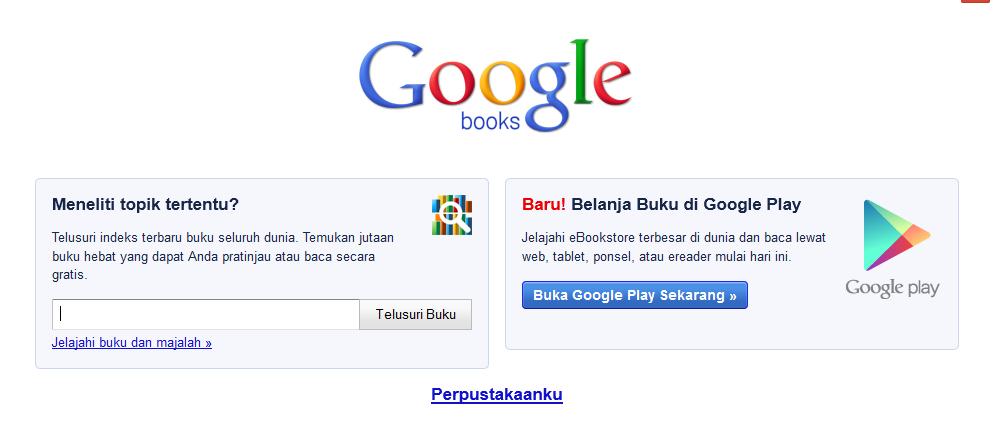 Cara Download Buku Di Google Book Online