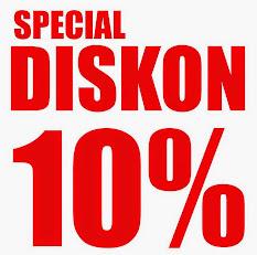 SPECIAL DISKON 10%