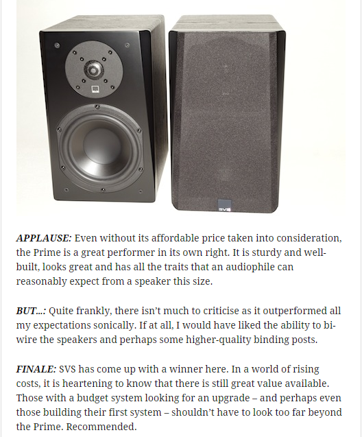 SVS Prime Speakers Of Distinction