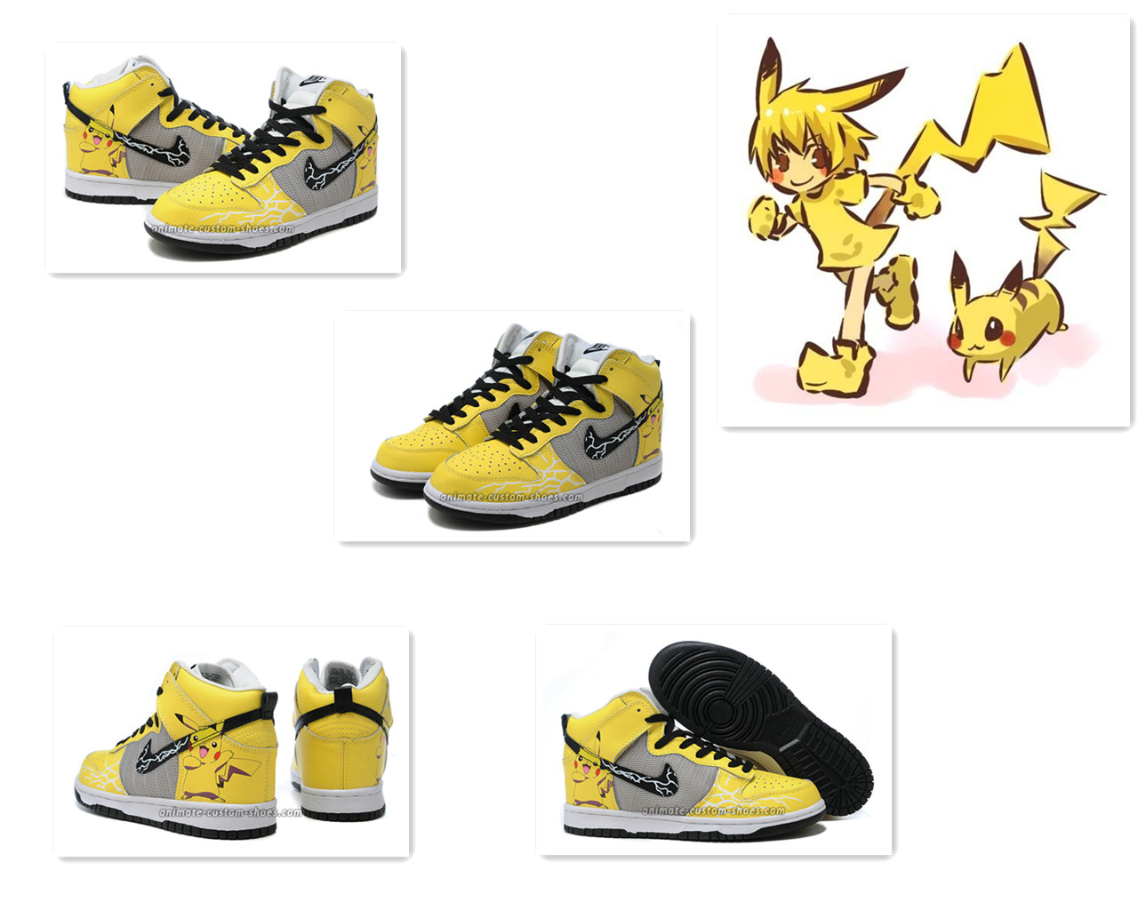 Pikachu Nike Dunks Size 7 Shop Nike Air Force Shoes At Finish Line ...
