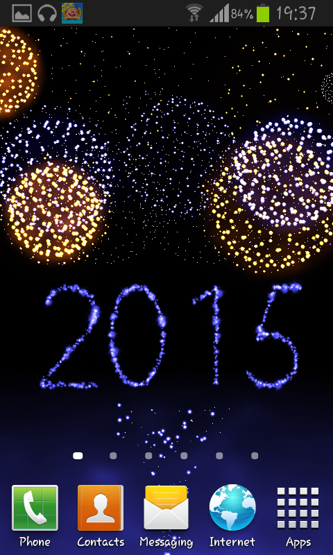 solved new years firework live wallpaper for android