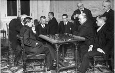 Encuentro de ajedrez entre el Casino de Madrid y el Círculo de Bellas Artes, 1919