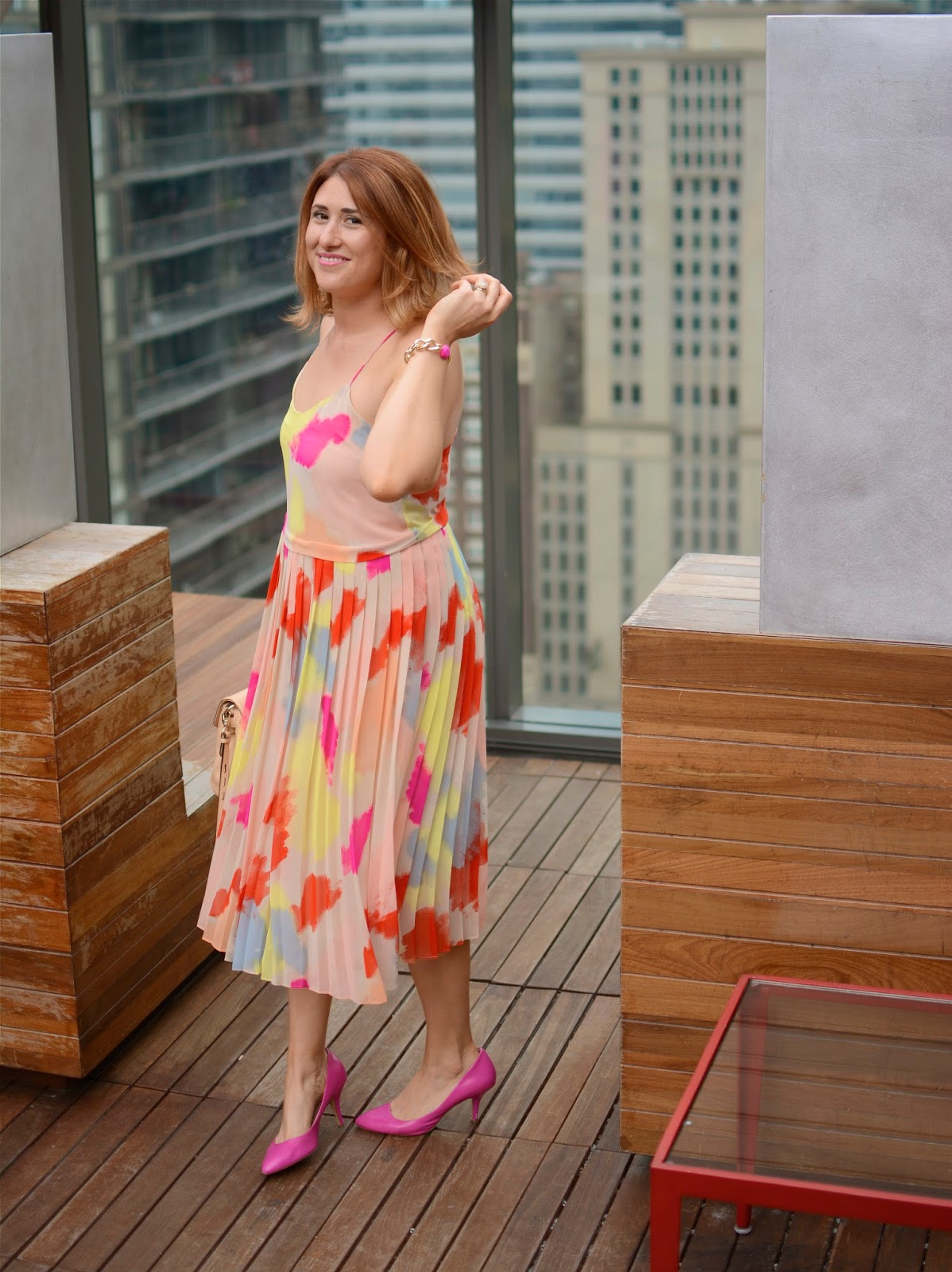 pleated, overlay, dress, 1, state, simply, stylist