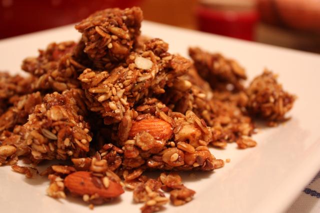 Crunchy Nutty Granola Recipe