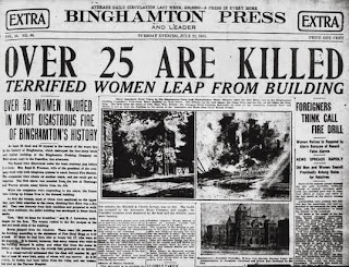 the triangle shirtwaist fire paper The triangle shirtwaist factory fire the triangle shirtwaist factory fire was an event that held relevance in american history on march, 25, 1911 at approximately 4:40 pm a fire broke out in the company's factory in new york city which was the deadliest industrial disaster 147 workers died in that incident, they either died from the fire or.