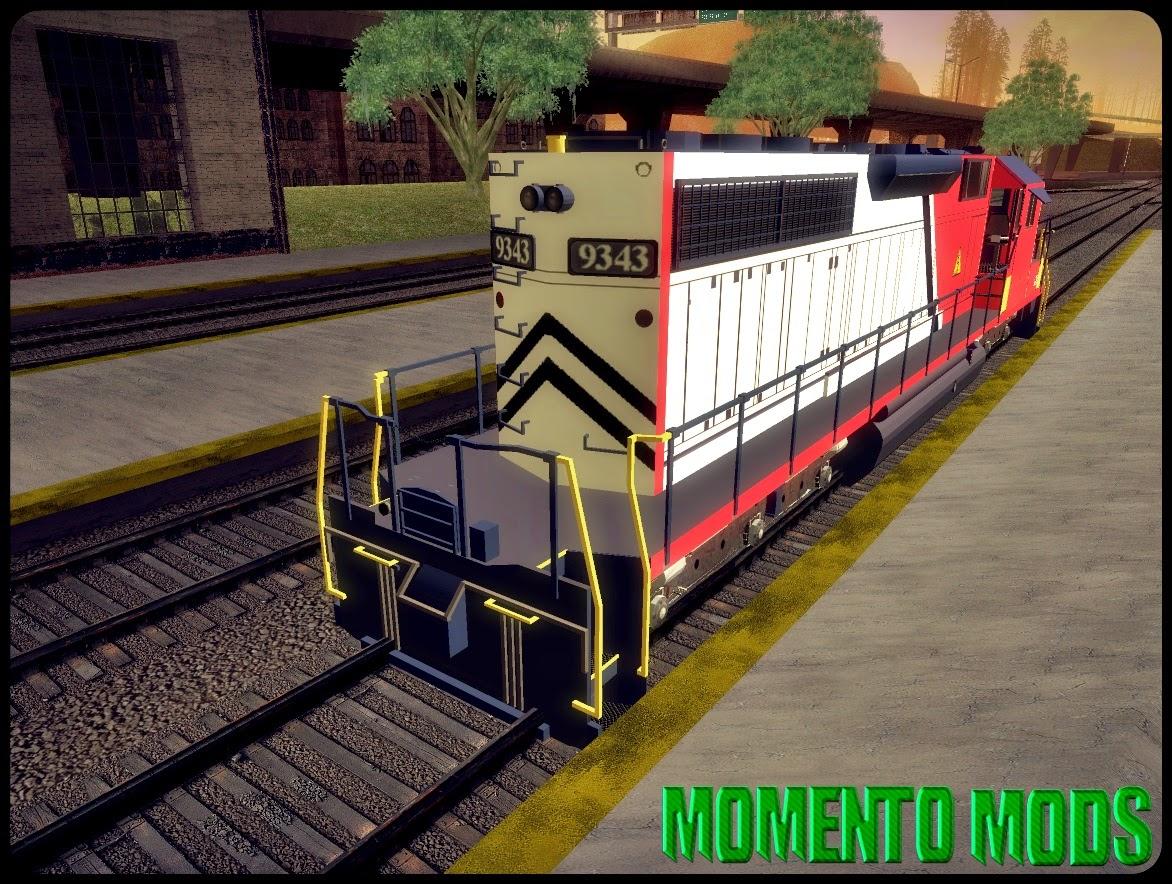 GTA SA - Trem Convertido Do GTA V