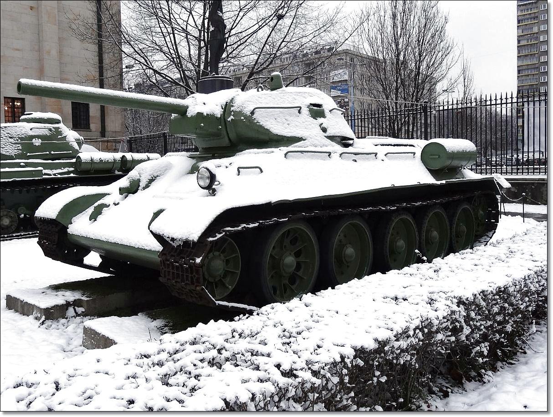 Zima w muzeum Wojska Polskiego