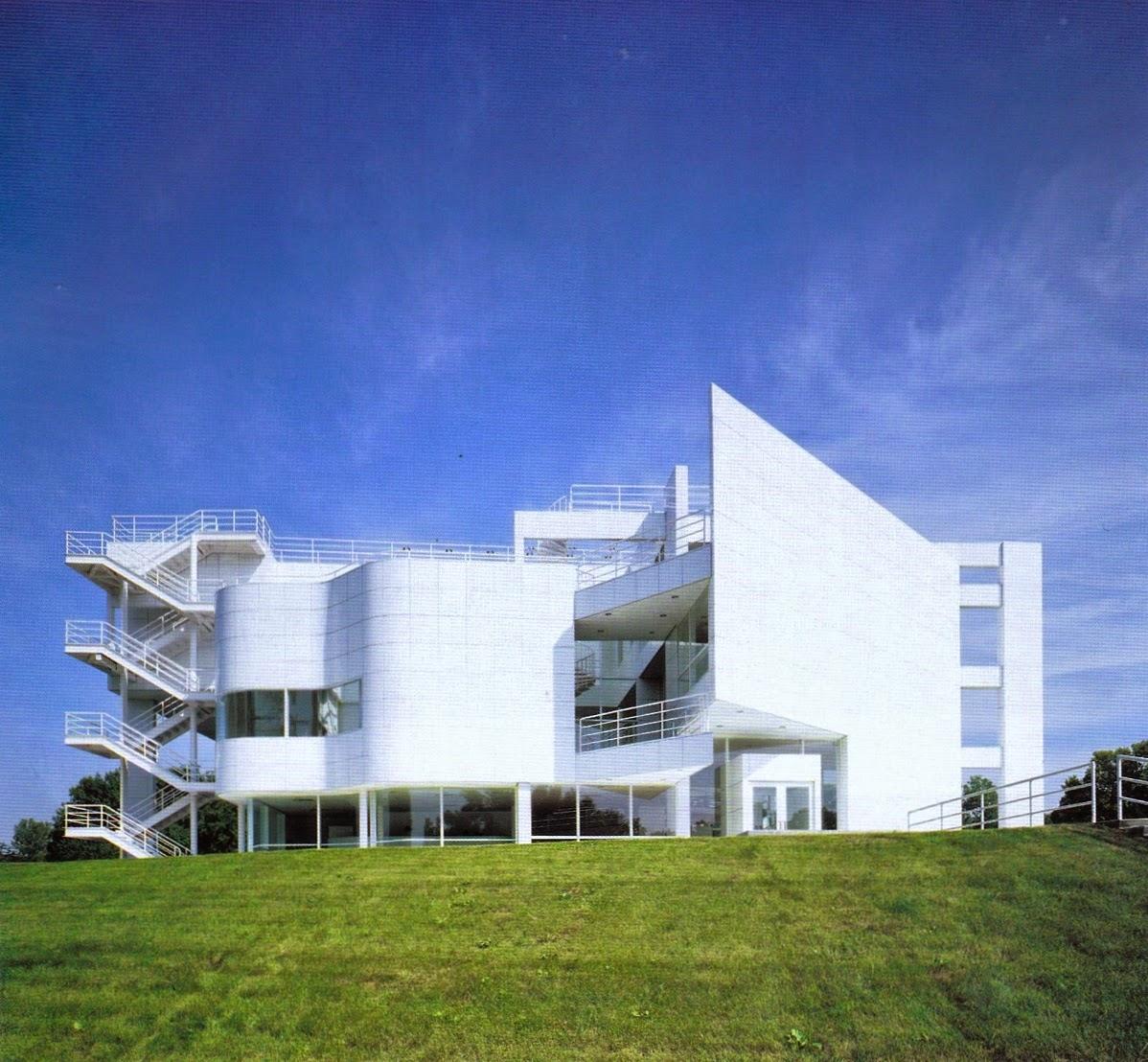 Di qua e di la architettura moderna the new york five for Richard meier opere