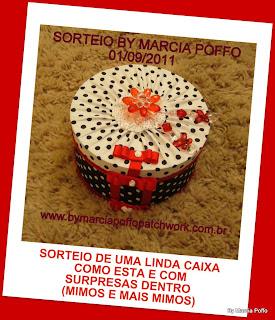 5º sorteio By Marcia Poffo 01/09