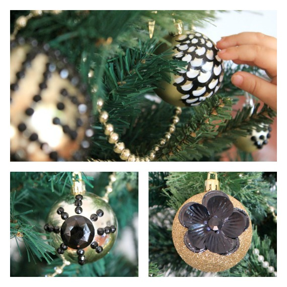 DIY Art Deco Christmas Tree Christmas Decorations Ornaments