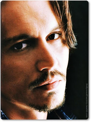 Johnny Depp Closeup