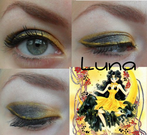 human luna inspired look