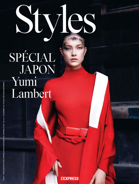 Fashion Model @ Yumi Lambert for L'Express Styles, November 2015