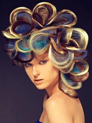 Raros peinados 2014 excentricos