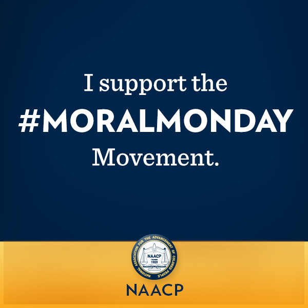 I am inspired by the MORALMONDAY Movement