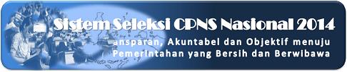 PENDAFTARAN CPNS 2014