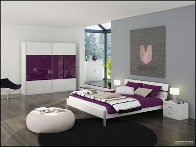 Ideas for home decor: Ideas for Colorful Modern Bedroom Design