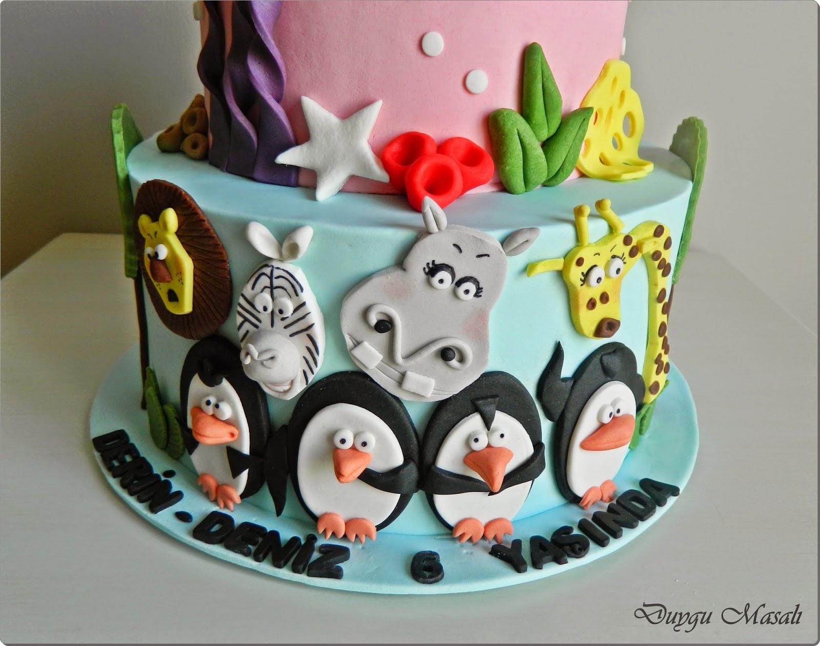 edirne madagaskar penguenleri butik pasta