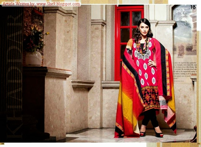 Shawl fashion trends in India and Pakistan