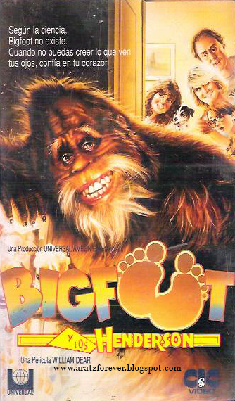 Bigfoot y los Henderson, Spielberg, bigfoot, John Lightow