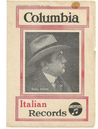 ITALIAN TENOR RAOUL ROMITO CD