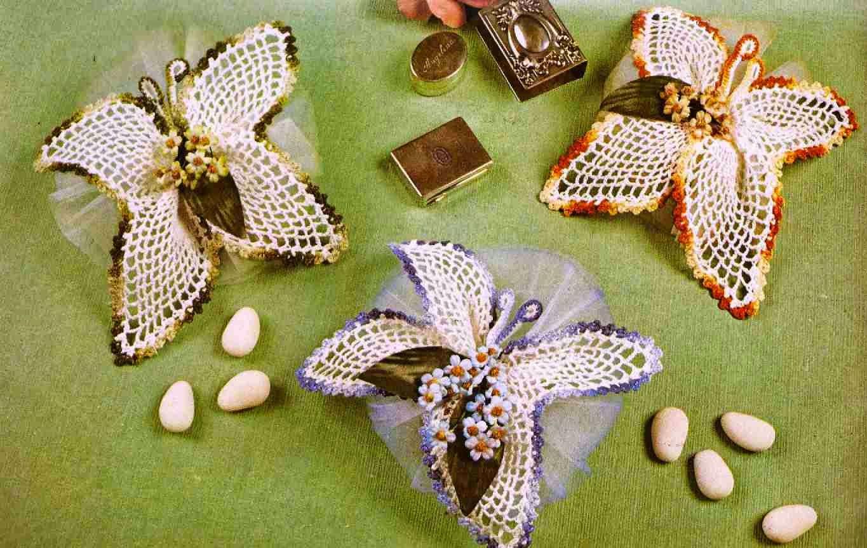 #90 Bomboneras a Crochet