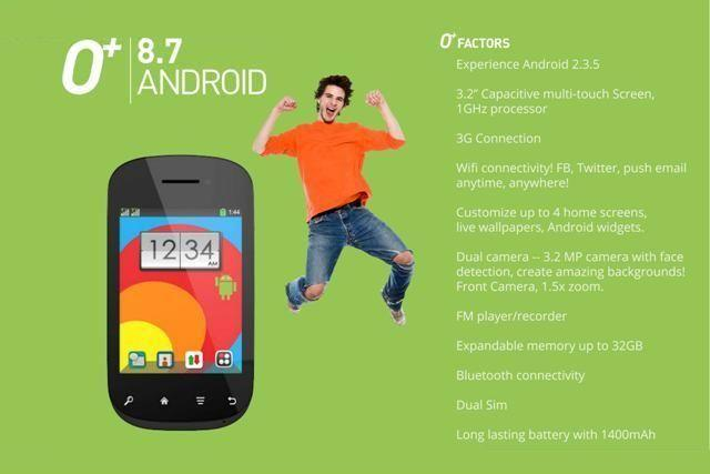 O+ 8.7 Android: Price, Specs and Availability in the Philippines