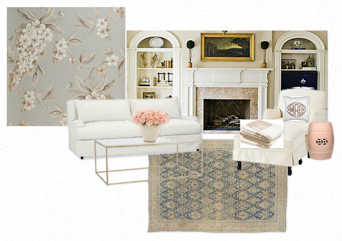 Belclaire House: Moodboard Monday: Master Bedroom & Sitting Room