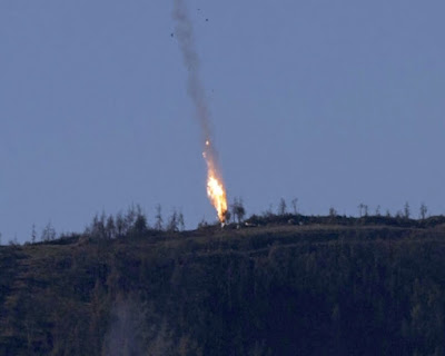 Turkey Shoots Down Russian Warplanes