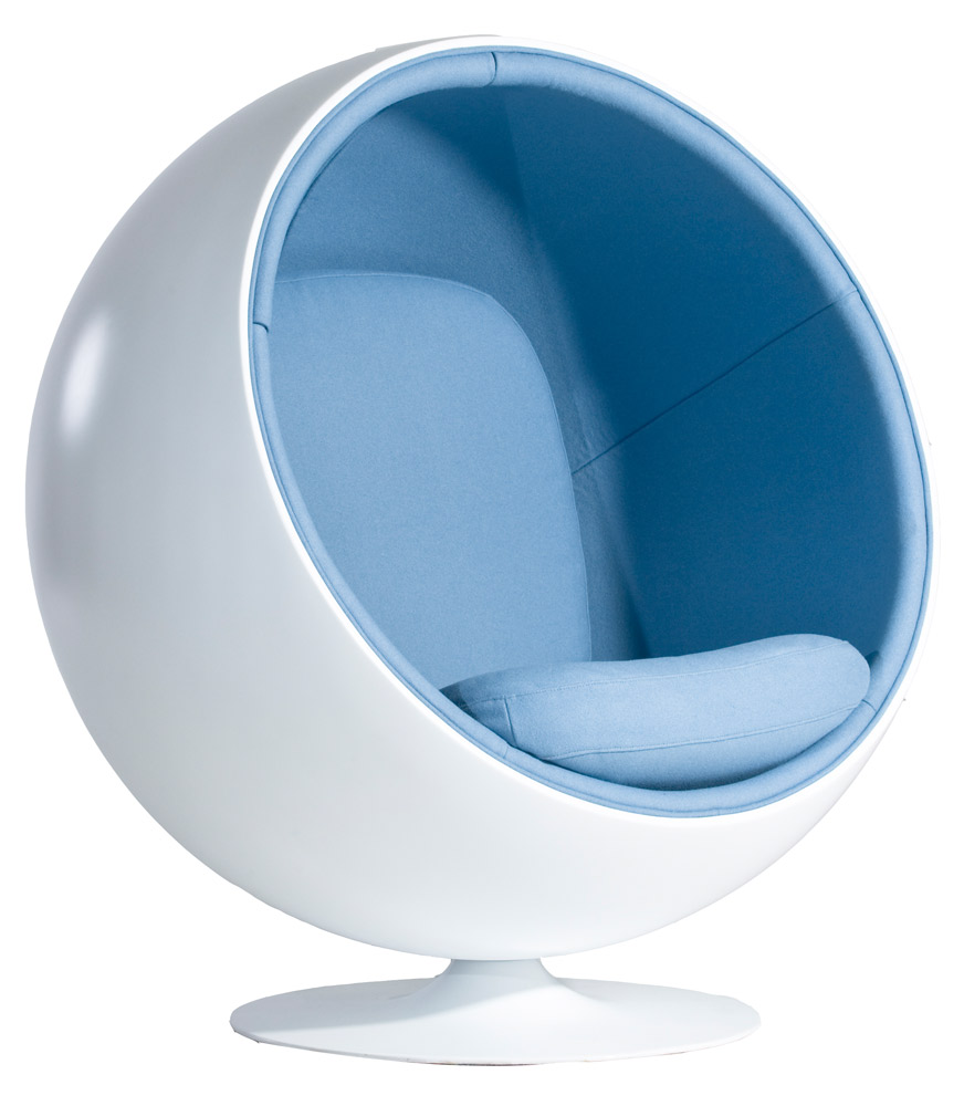 1001 chairs the ball chair eero aarnio 0012. Black Bedroom Furniture Sets. Home Design Ideas