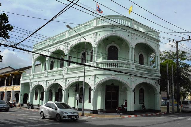 Phuket Town Potuguese architecture