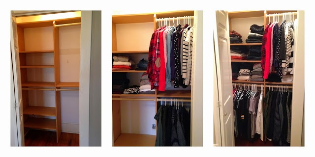Organizing a Fall/Winter Closet