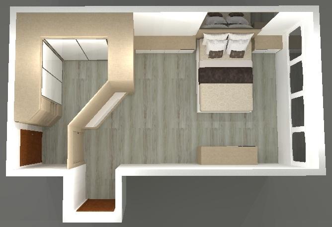 Quarto casal com closet ou sem closet LA Arquitetura ~ Quarto Casal Closet