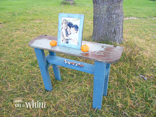 Chippy Reclaimed Wood Table from Denise on a Whim