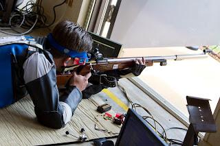 Cassio Rippel (BRA) - Carabina Deitado - Copa do Mundo ISSF de Carabina e Pistola - Tiro Esportivo