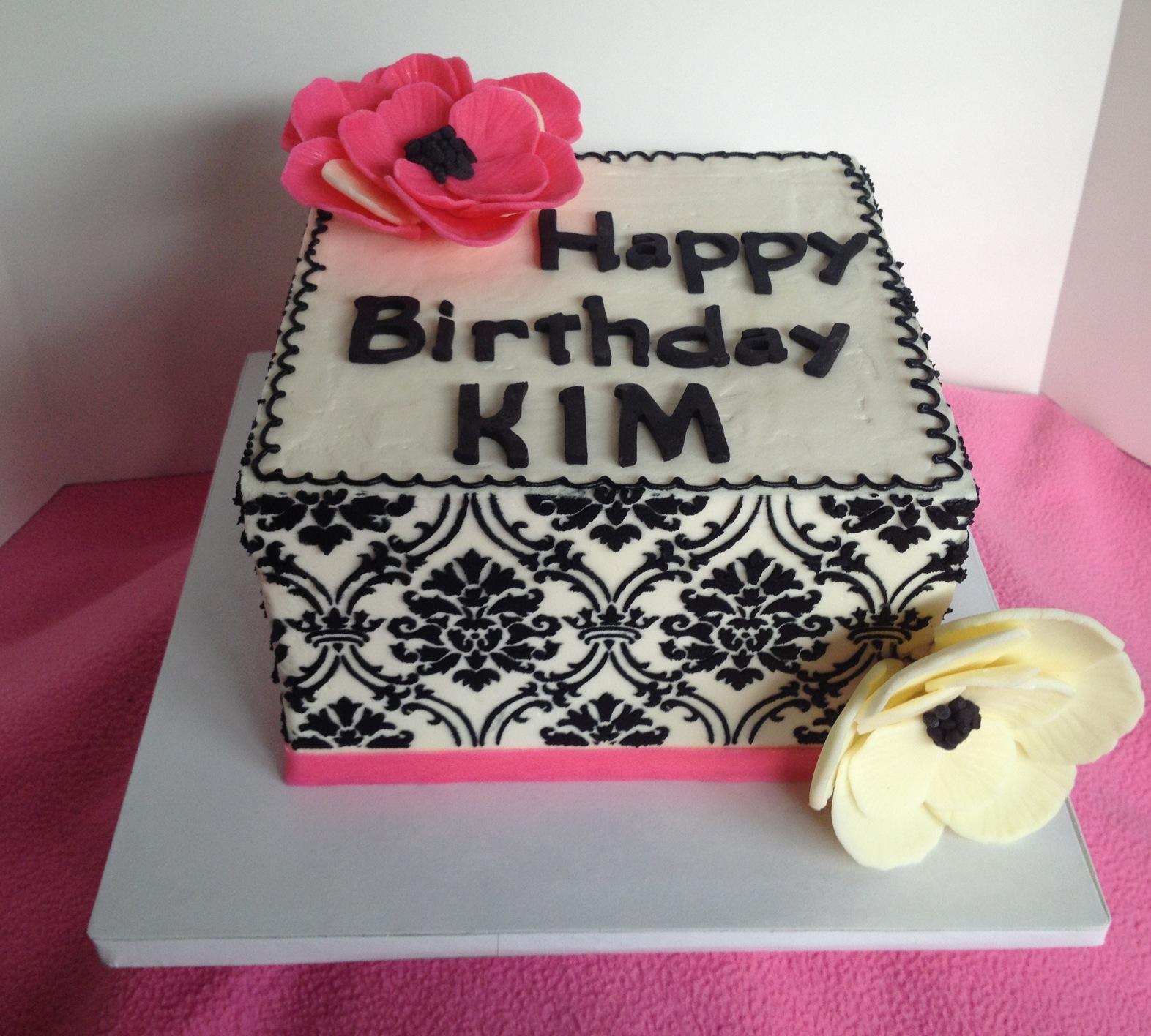 Pin Damask Bling Wedding Cake Wwwpassionforcakes Cake