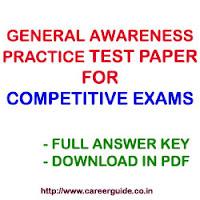 IBPS RRB 2015 General Awareness Practice Paper - 11