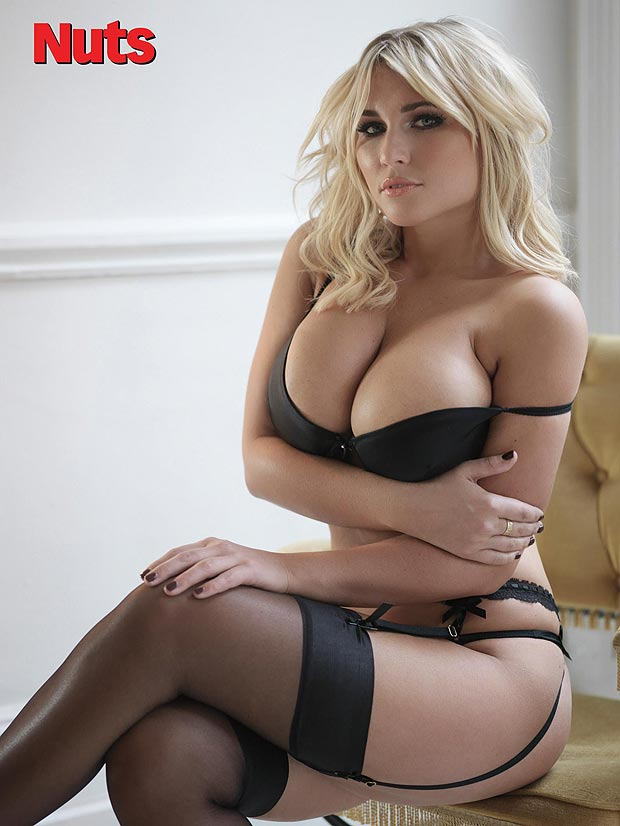 Billie Faiers Nuts Magazine