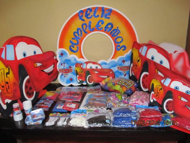 DECORACION FIESTA CARS | Decoracion fiestas infantiles medellin ...
