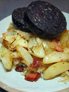 black-pudding-potato-sauerkraut