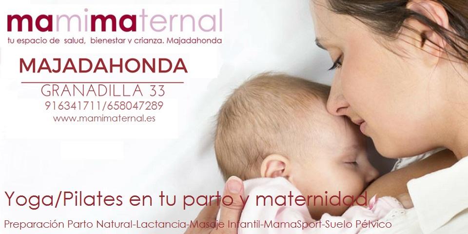 Yoga/Pilates en tu parto y maternidad. MAMIMATERNAL Majadahonda