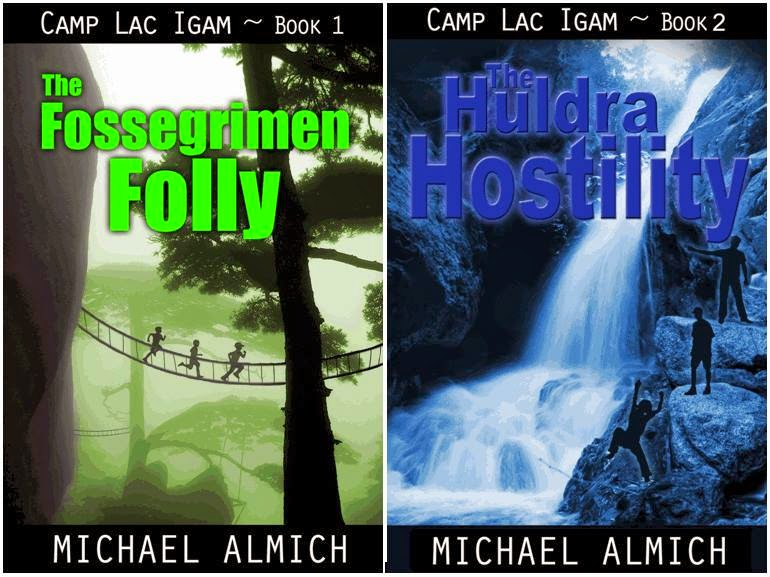 Camp Lac Igam - Book 1: The Fossegrimen Folly; Book 2 - The Huldra Hostility