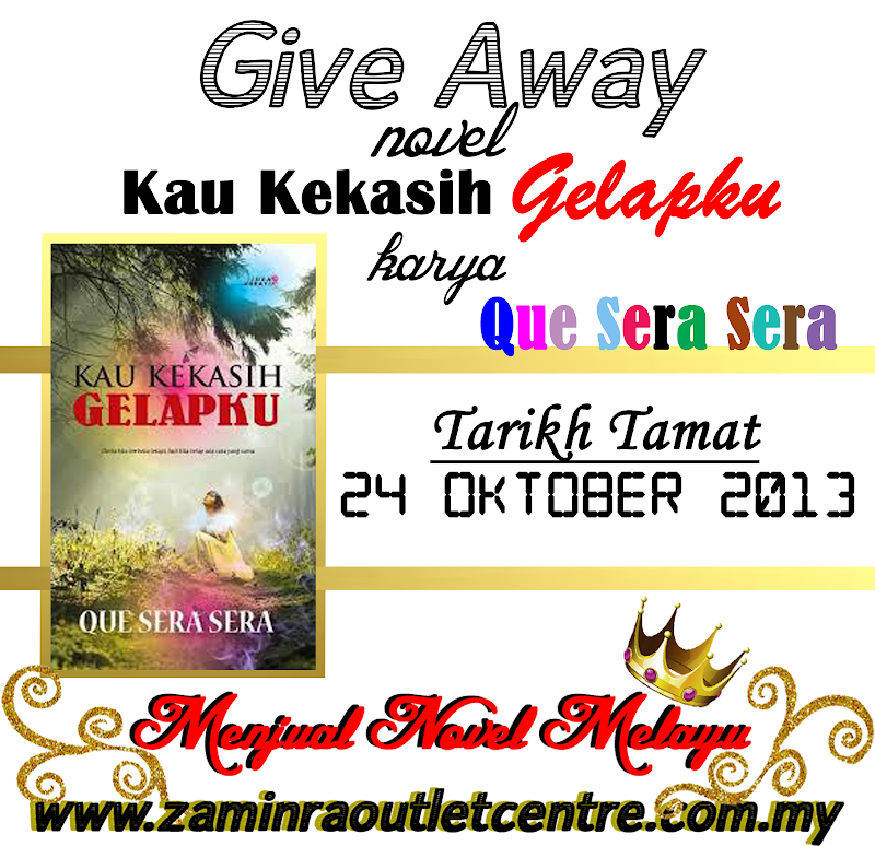 Giveaway by Menjual Novel Melayu