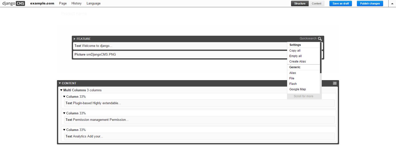 django cms #2 Templates & Placeholders