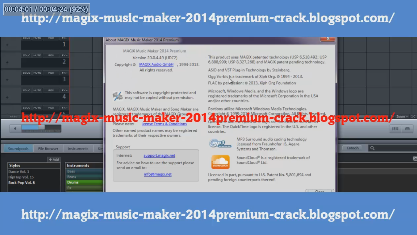 Magix Music Maker 16 Premium  magix+music+maker+2014+premium+20.0.3.49+update