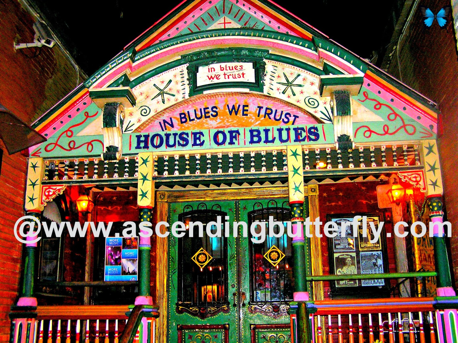 House of Blues New Orleans, Louisiana, Travel Tourism, Photography, Blues, Music