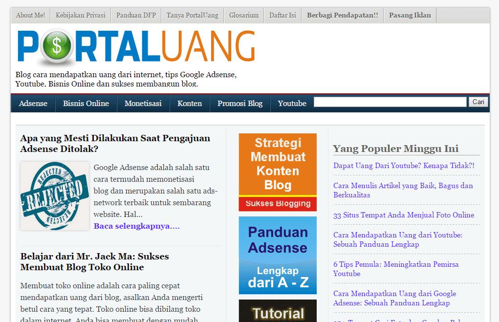 Portal uang